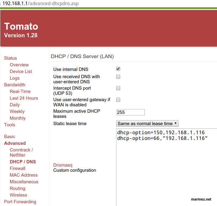 Cisco 79xx 7940(G) 7960 działająca konfiguracja SIP VOIP z